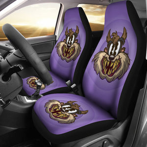 Tasmanian Devil Car Seat Covers Looney Tunes Cartoon