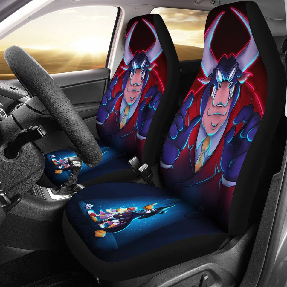 Darkly Dawns The Duck Tribute Car Seat Covers