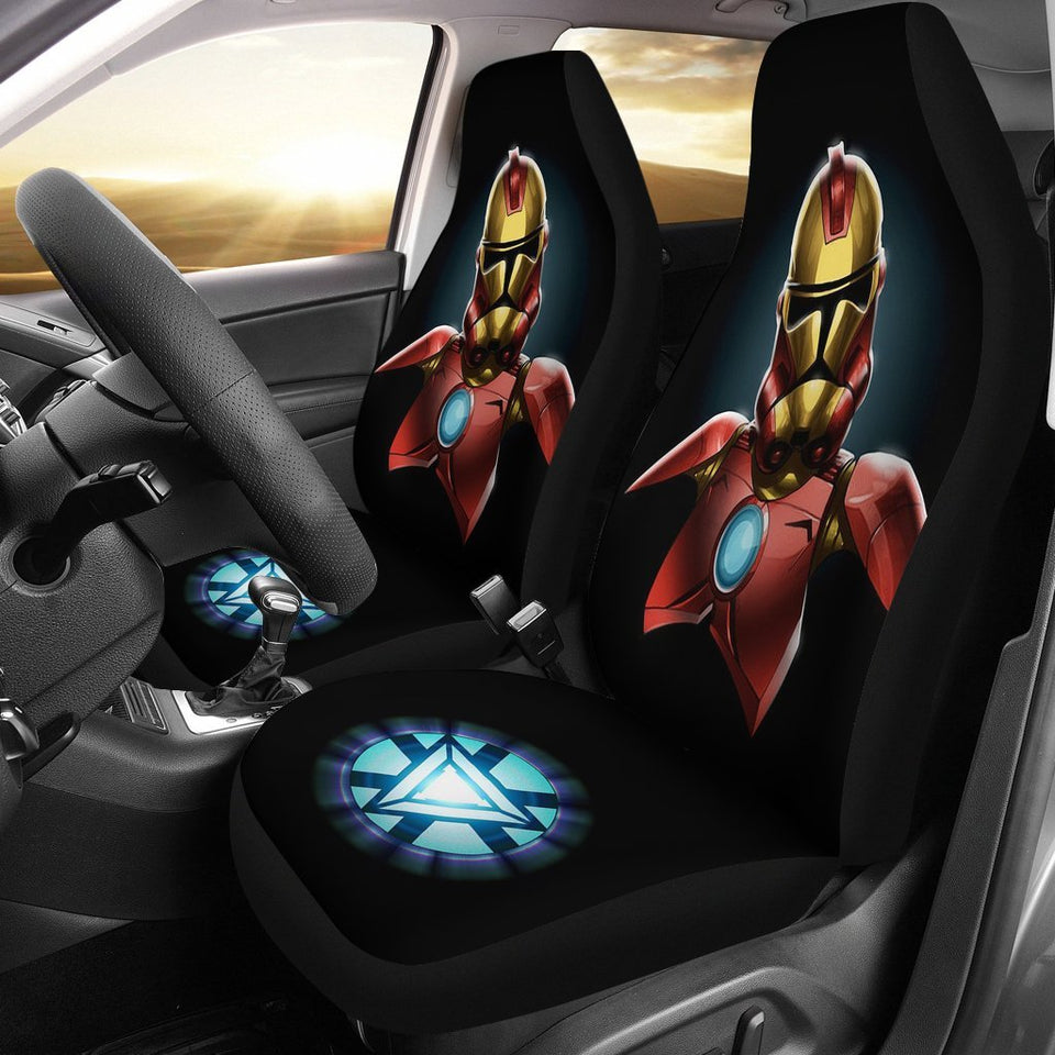 Iron Man Stormtrooper Seat Cover