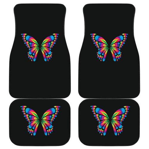 Autism Awareness Butterfly Front And Back Car Floor Mats T051920
