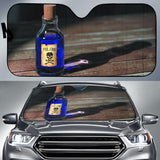 Purple Poison Bottle Car Auto Sunshades Auto Sun Shades