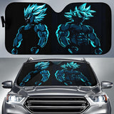 Goku Vegeta Blue 1 Auto Sun Shades
