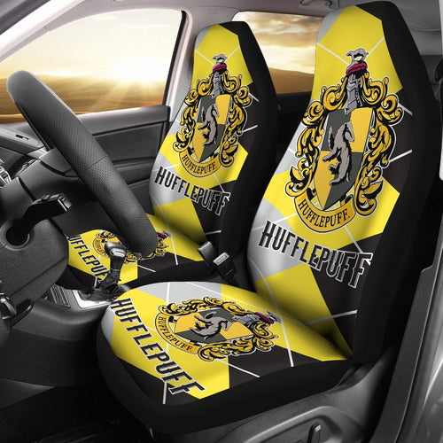 Hufflepuff Harry Potter Car Seat Covers Movie Fan Gift H1224
