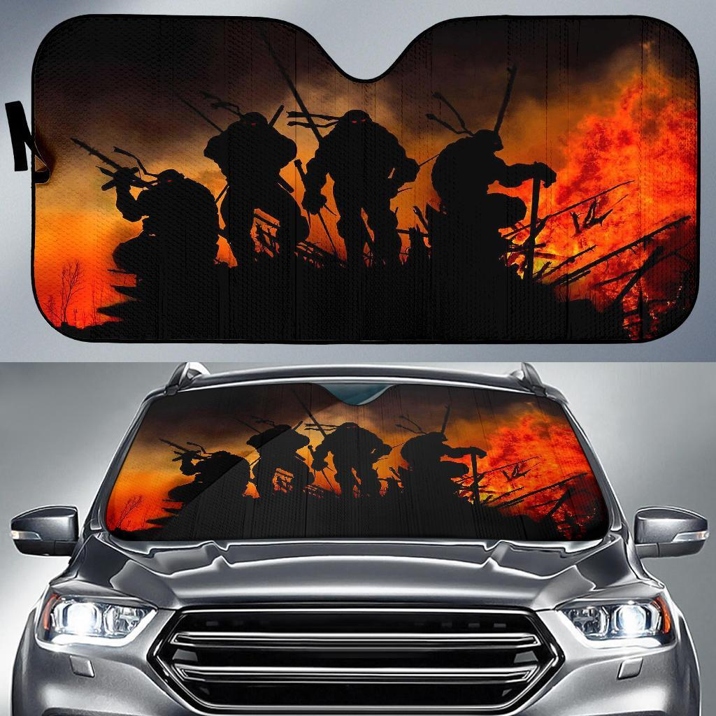 Teenage Mutant Ninja Turtles Car Sun Shades 1 Auto