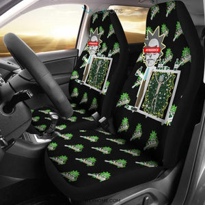 Rick And Morty Car Seat Covers | #FreeRick Rick Drunk Patterns Seat Covers NT041505 GearForCar 1