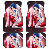 Darling In The Franxx Kiss Anime Car Floor Mats 191021