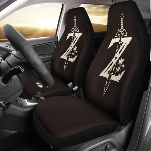 Legend Of Zelda Breath The Wild Anime Car Seat Covers 6
