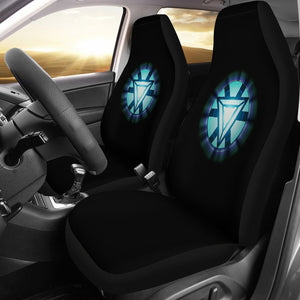 Iron Man Chest Avengers Mavel Car Seat Covers