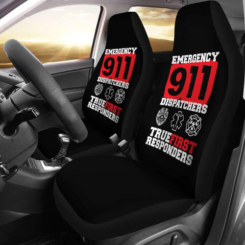 911 Dispatcher Fitness USA Car Seat Covers T032120