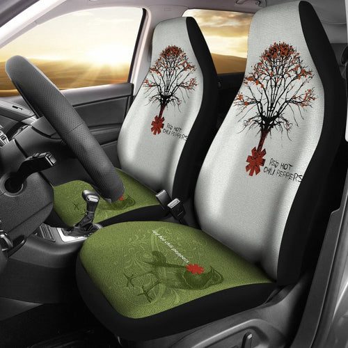 Red Hot Chili Peppers Car Seat Covers | RHCP Bird Logo Custom Seat Covers NT032308 WexHome 1