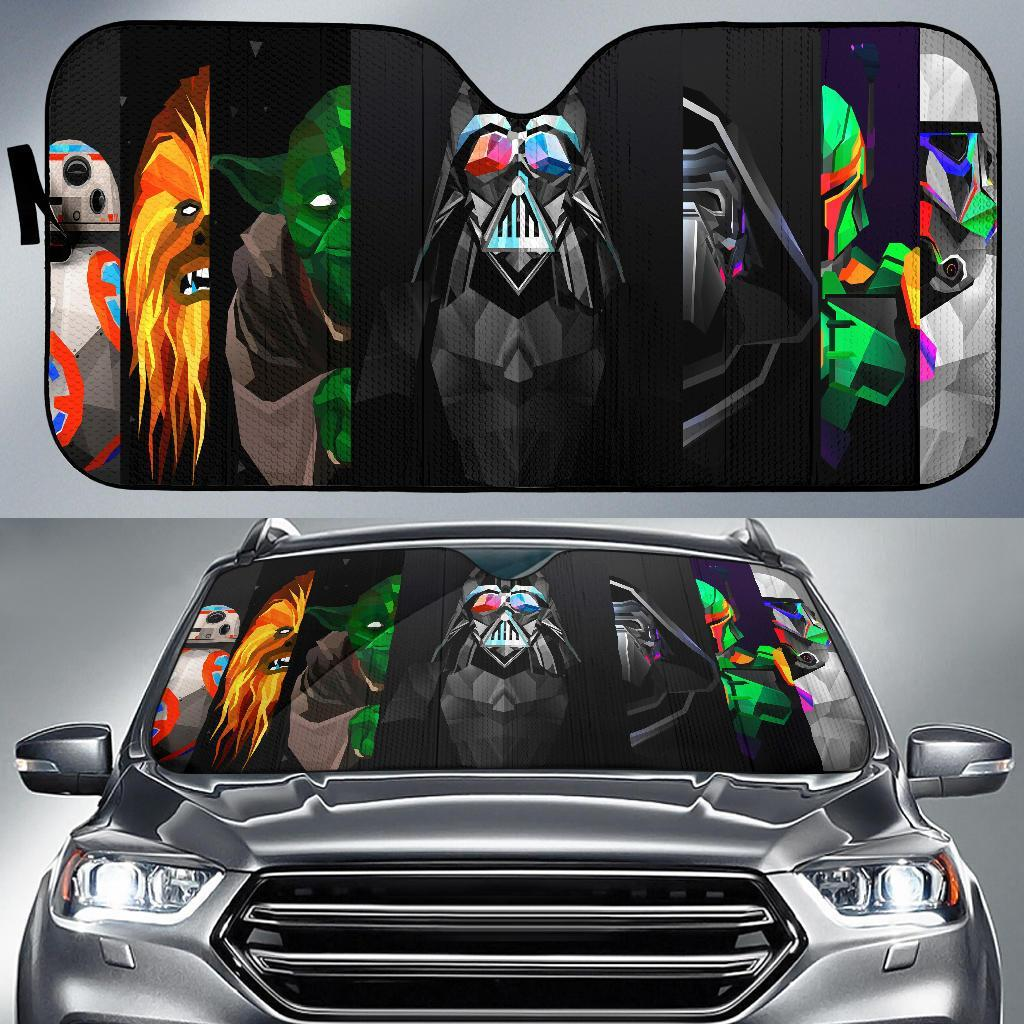 Star Wars Darth New Auto Sun Shades