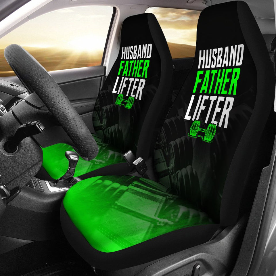 Husband Father Lifter Car Seat Covers Amazing Gift T090220