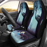 Alice In Wonderland Car Seat Covers Cartoon Fan Gift T0105