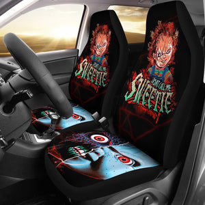Chucky Car Seat Covers Child's Play Horror Movie Fan Gift T200224
