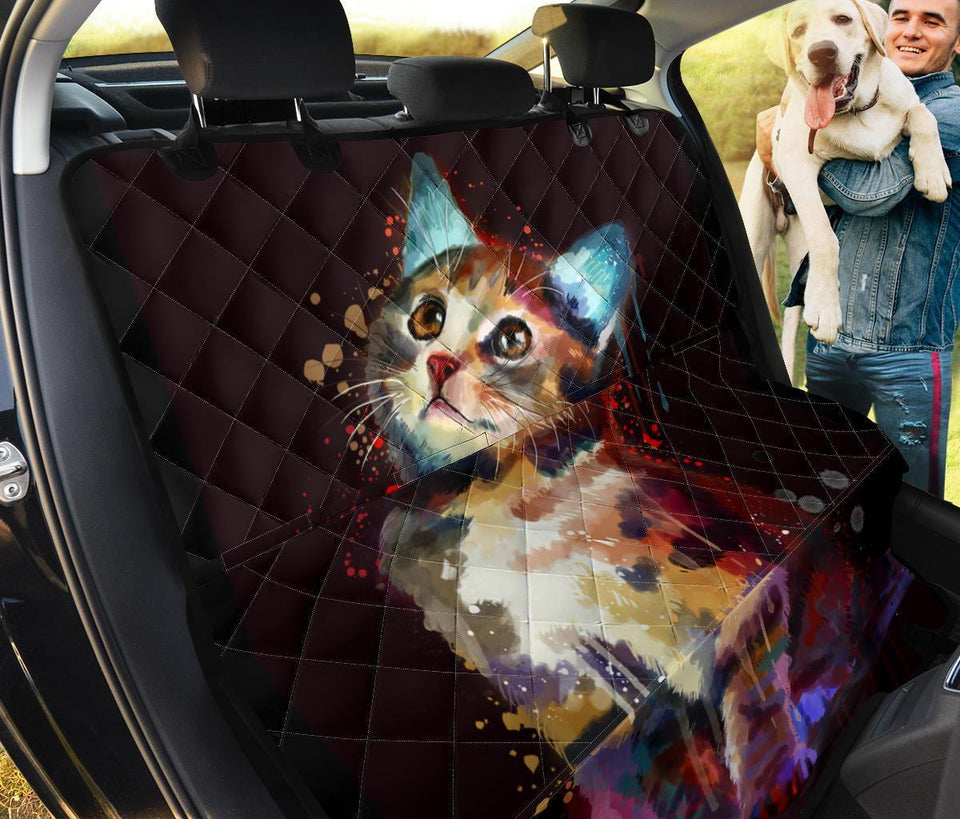 Cute Kitty Cat Pet Seat Cover Pet Seat Cover