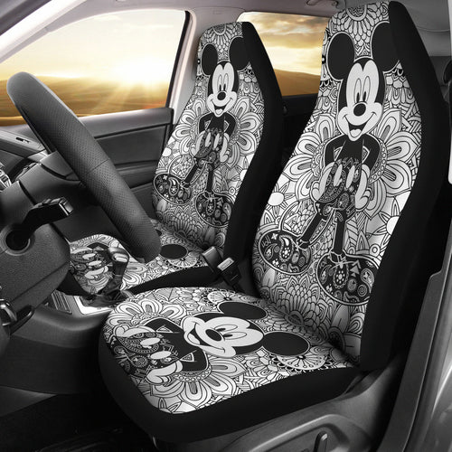 Mickey Mouse Car Seat Cover Disney Cartoon Fan Gift H040820