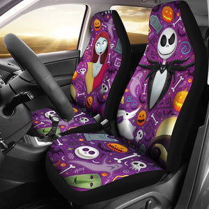 Jack Skellington Sally The Nightmare Before Christmas Car Seat Covers