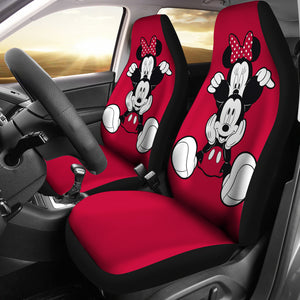 Mickey and Minnie Cute vintage Car Seat Covers Cartoon H042220