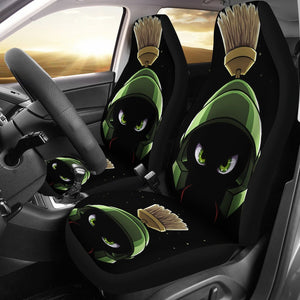 Marvin The Martian Cartoon Car Seat Covers