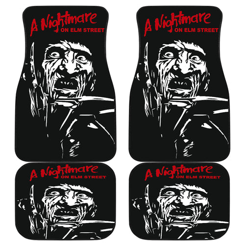 Freddy Krueger A Nightmare On Elm Street Car Floor Mats H063020