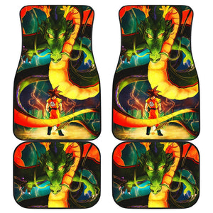 Dragon Ball Z Goku Saiya Car Floor Mats 191021