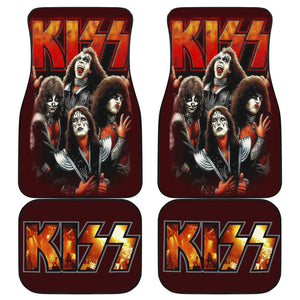 Rock Band Kiss Band Art Car Floor Mats Amazing Gift H050320
