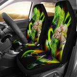 Broly Dragon Ball Car Seat Covers