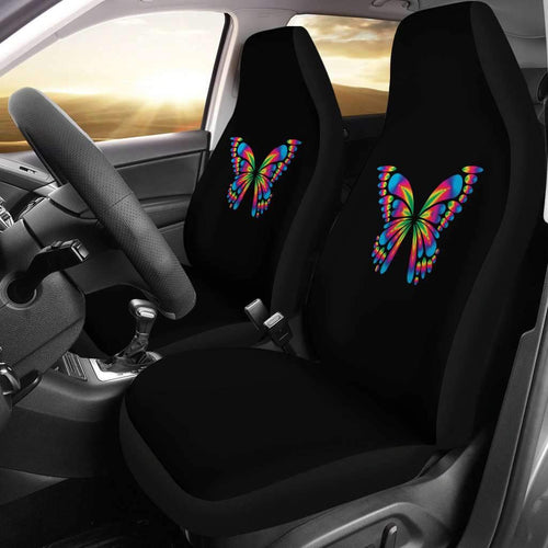 Autism Awareness Butterfly Car Seat Covers T032021