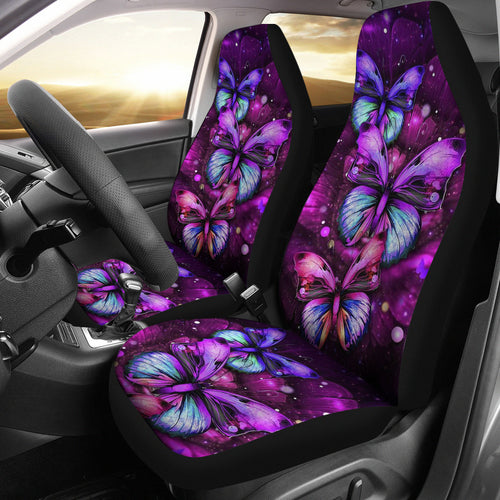 Butterfly Beauty Art Car Seat Covers Amazing Gift Ideas H050320