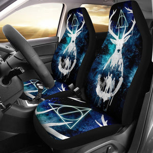 Harry Potter Art Logo Deer Car Seat Covers 191202