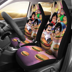 Bobs Buger Hambuger Family Car Seat Covers 191126