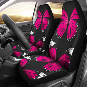 Pink Butterfly Amazing Gift Ideas Car Seat Covers T0201