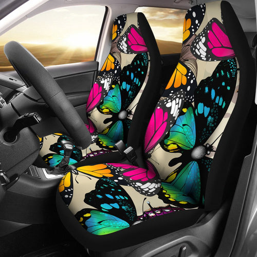 Beautiful Colorful Butterfly Car Seat Covers Amazing Gift Ideas T0201