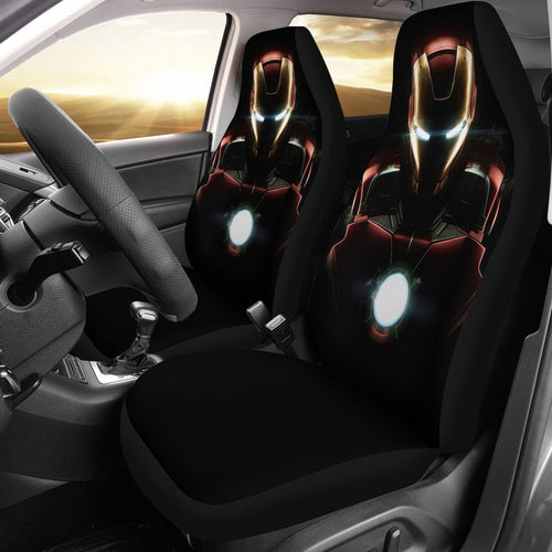 Iron Man Neon Avengers Mavel Car Seat Covers 3