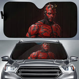Darth Maul Red Skin Car Auto Sun Shade N022401