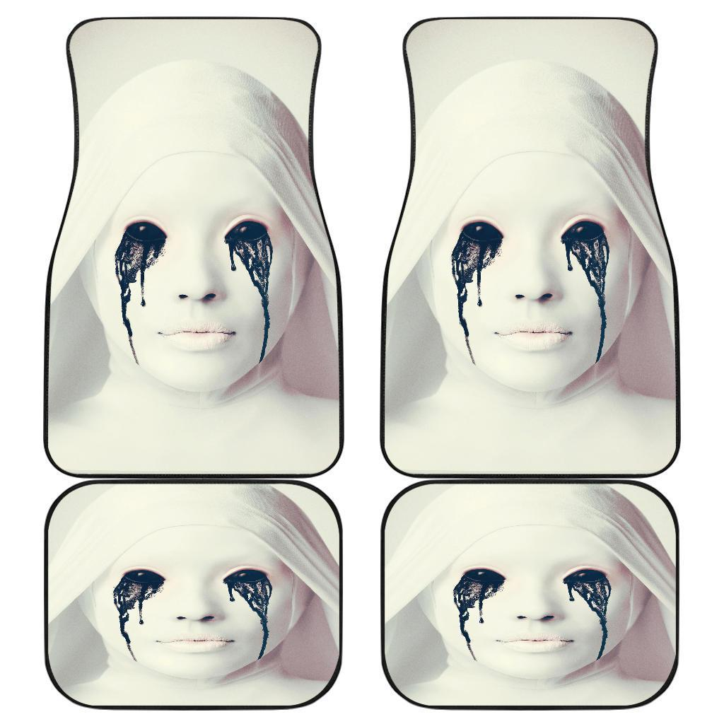 Demon Eyes Of White Nun American Horror Story Car Floor Mats 191017