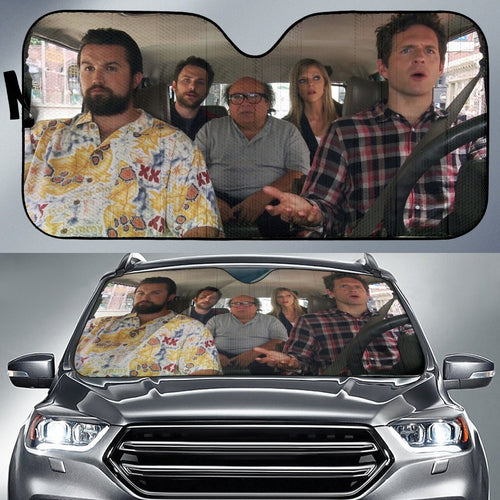 Its Always Sunny In Philadelphia Driving Auto Sun Shade Shades