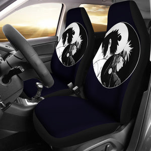 Naruto Sasuke Yin And Yang Anime Car Seat Covers