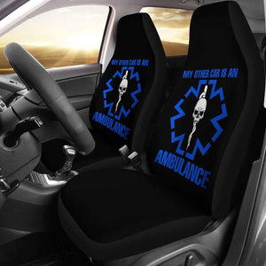 My Other Car Is An Ambulance Car Seat Covers T040820
