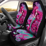 Ariel Car Seat Covers The Little Mermaid Cartoon Fan Gift T1227