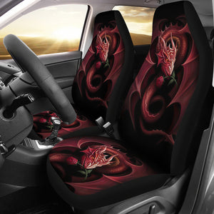 Dragon Art Design Car Seat Covers Amazing Gift Ideas H0119