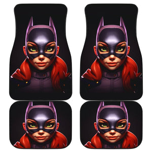 Batgirl In Black Theme Car Floor Mats 191018