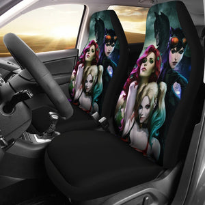 Batman Mera Harley Queen Cat Woman Car Seat Covers