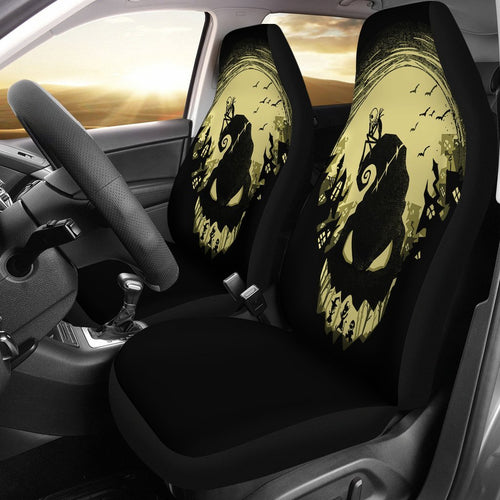 Jack Skellington And Ogie Bogie The Nightmare Before Christmas Car Seat Covers