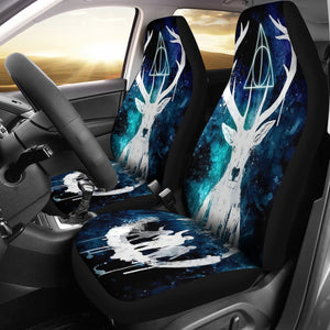 Harry Potter Deer Deathly Hallows Art Car Seat Covers