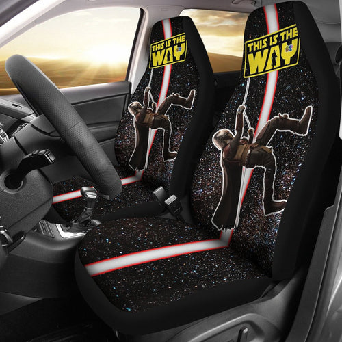 Star Wars This Is The Way Mandalorian Climbing Car Seat Covers GFC042903