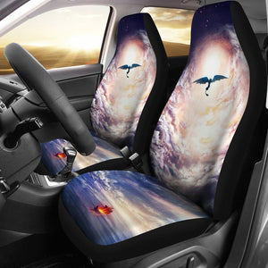 Sky & Sea How To Train Your Dragon Car Seat Cover 191125 Covers