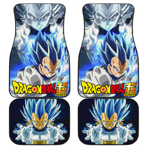 Vegeta Art Dragon Ball Car Floor Mats Manga Fan Gift H060920