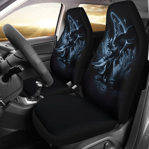 Disney Mickey Mouse Art In Black Theme Car Seat Covers 191130