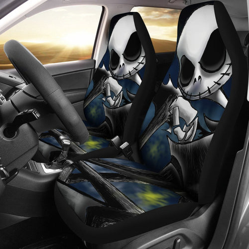 Nightmare Before Christmas Jack Car Seat Covers 191202